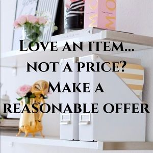 Reasonable offer will be accepted